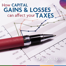 How capital gains and losses can affect your taxes
