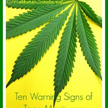 Ten Warning Signs of Teen Marijuana Addiction: What Parents Need to Know - Mother's Circle