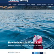 How to Invest in Water ETFs