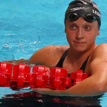 Katie Ledecky is first woman to win 12 gold medals at worlds