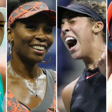 US Open women's semifinalists: All Americans