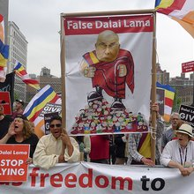 China co-opts a Buddhist sect in global effort to smear the Dalai Lama