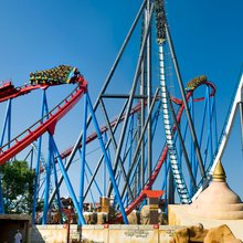 PortAventura theme park fun in the Spanish sun