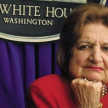 "The late White House reporter Helen Thomas on the United States and the Middle East: ""The U.S. ha..."