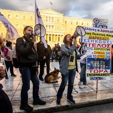 As Greeks Endure More Pain, They Have New Leader-in-Waiting