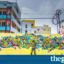 The Guardian: From Ai Weiwei's Dog to Indian wall painting: great public art - in pictures