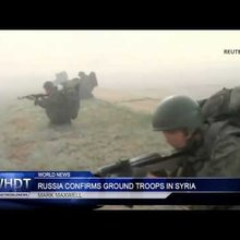 Russia Confirms Ground Troops in Syria