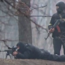 No Protester Is Safe From Snipers Or AK-47s In Ukraine