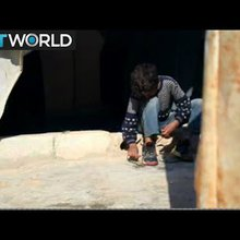 The War in Syria: Displaced Syrian children forced to work