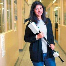 Young Pakistani student develops innovative stick to assist Parkinson's patients