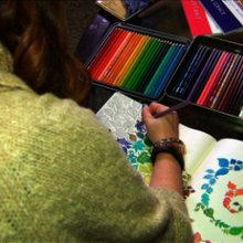 Coloring books for adults are topping bestseller lists - CNN Video