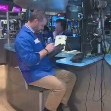 The volatile first quarter of trading on the NYSE - CNN Video