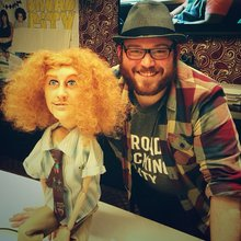#Workaholics marionettes at Comedy Central