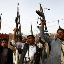 Houthi rebels in Yemen determined 'to fight back' despite airstrikes