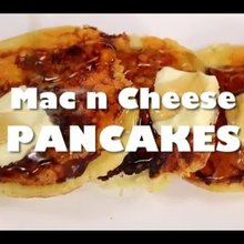 How to make mac and cheese pancakes