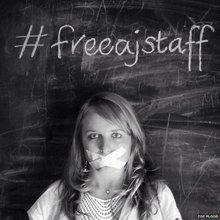 #FreeAJStaff: The hashtag in numbers