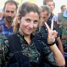 Who is the 'Angel of Kobane'?