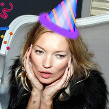 It's Kate Moss's Birthday! To Celebrate, Here Are Lots Of Pictures Of Her Being Excellent At Fanc...