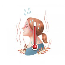 I'm getting horrible hot flashes. What can I safely do about them?
