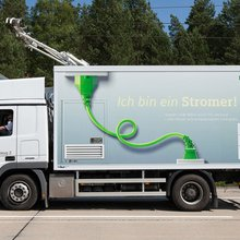 Electrically Powered Truck Trialled in Sweden