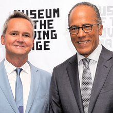 Lester Holt and Amazon's Roy Price Share Honors for Visual Storytelling