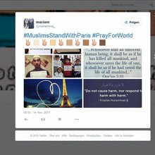 #TerrorismHasNoReligion: Muslims react to #ParisAttacks | Social Media
