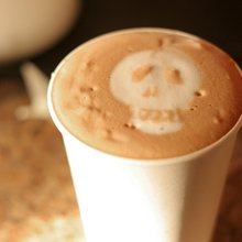 Mortality and hot chocolate on tap at Death Cafe