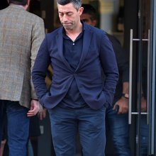 Axed Pedro Caixinha snapped at trendy Glasgow restaurant after Rangers sacking