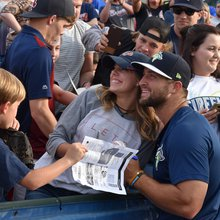 Is Mets prospect Tim Tebow an Atlanta Braves fan?