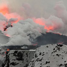 Eyjafjallajökull Gave Lava and Ice Researchers an Eyeful - Eos