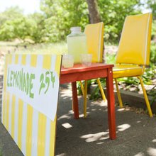 ¿Cómo se monta un puesto de limonada?