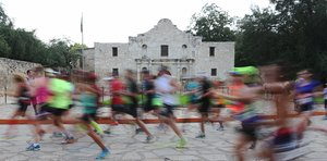 Heat is no sweat for runners