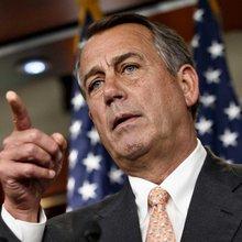 House Speaker Boehner to visit S.A.