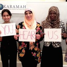 Muslim women broadcast their strength with #CanYouHearUsNow