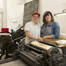 To the Letter: Ladyfingers Letterpress — Springs Magazine