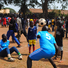 Football Unites All Ugandans, Even the Disabled