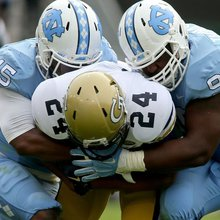 Fedora credits Chizik for turnaround of UNC defense
