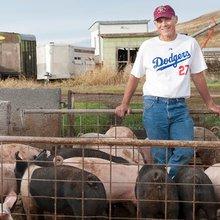 Farmer's Real Prizewinner Is Fantasy Baseball Team