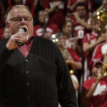 Tim Noble's National Anthem performances spark Indiana fanbase