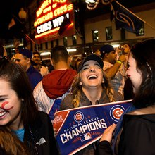 At long last, Cubs fans get to party like it's 1945