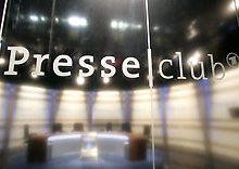 "Participation at German public TV debate ""Der ARD-Presseclub"""