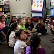 Crow Agency school builds language instruction from the ground up