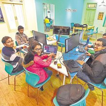 Head start: Swanky co-working spaces boost Capital's start-up scene