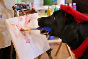 Painting dog from LI earns worldwide fame (paywall)