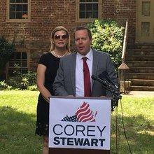 Stewart plows ahead in third bid for higher public office