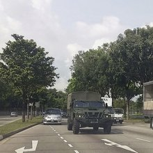 Singapore quietly introduces the VAMTAC ST5 high mobility tactical vehicle