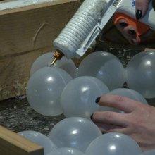650,000 balls + glue + volunteers = real-life Lego world