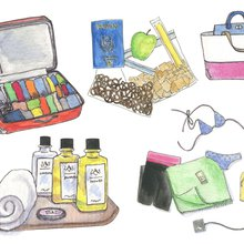 The Flight Attendant's Guide to Packing Light