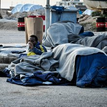 Tension between refugees and Greek island residents puts pressure on the need for a long-term sol...