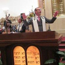 Rabbi Reimer installed at Temple Sinai